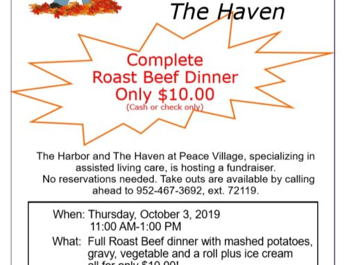 The Harbor & Haven Fall Fundraiser – Thurs, Oct 4, 2019